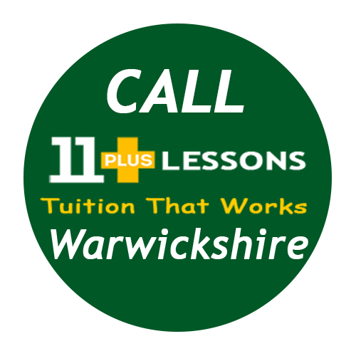 Call Warwickshire 11 Plus Tuition